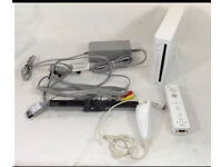 Nintendo wii white complete