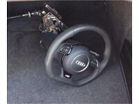 Audi A5 Flat Bottom Steering Wheel