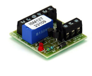 12V Transistorised Relay Double Pole with LED Indication - ISM12T
