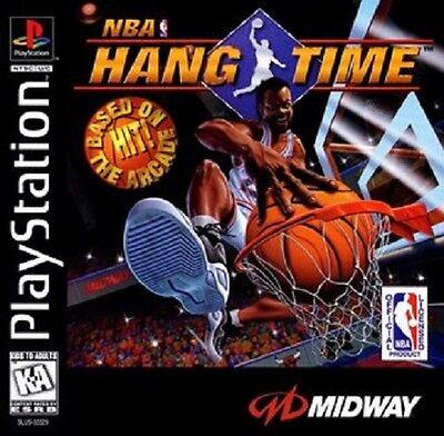 NBA Hang Time PS1 Great Condition Fast Shipping comprar usado  Enviando para Brazil