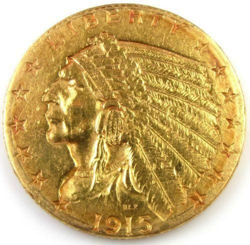 1915 Indian Head Gold Coin Ebay