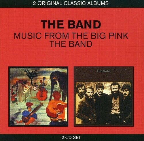 The Band - Music From The Big Pink/the Band [new Cd]