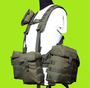 Tactical Load Bearing Vest: ORIGINAL RUSSIAN SMERSH PKM by SPOSN