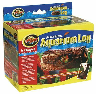 "Zoo Med Small Floating Aquarium Log, 6"" x 3.25"" x 3.2"" , FA10"
