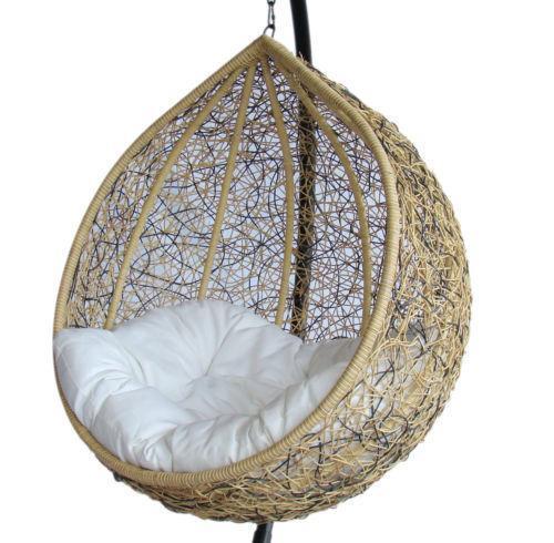 Wicker Swing Chair Ebay
