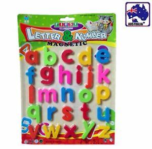 Lower Case Magnets Alphabet 26 Letters Teaching Kids Baby Educational GWMEG2705