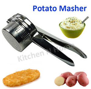 Large Potato Ricer Masher & Fruit Vegetable Press, Stailess Steel