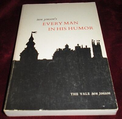 Every Man in His Humour Ben Jonson Pbk Every Man in His Humor Yale Ben Jonson (Ben Jonson Every Man In His Humour)