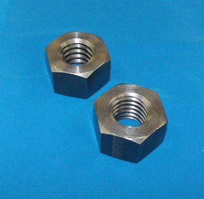 304080-nut 1 14-5 Acme Hex Nut Steel 2 Pack For Acme Rh Threaded Rod