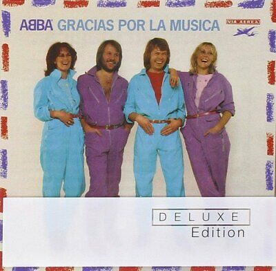 ABBA - GRACIAS POR LA MUSICA (SPANISH DELUXE VERSION) - CD+DVD - NEW