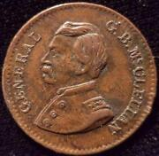 McClellan Civil War Token