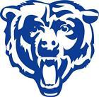 Chicago Bears Car Decal