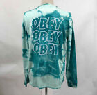 OBEY Graphic Tee Tie Dye T-Shirts for Men
