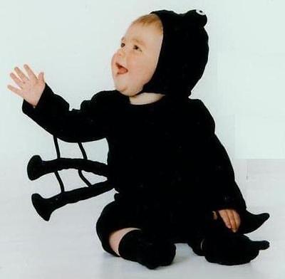 NEW 100% Cotton Harrison's SPIDER  Infant Baby Halloween Costume 0-6Mos NWT - Harrison Halloween