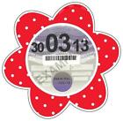 Red Tax Disc Holder