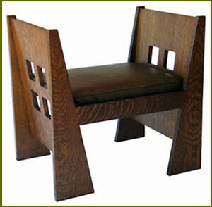 Window Bench Plans Limbert Stickley Mission Arts And Crafts Furniture