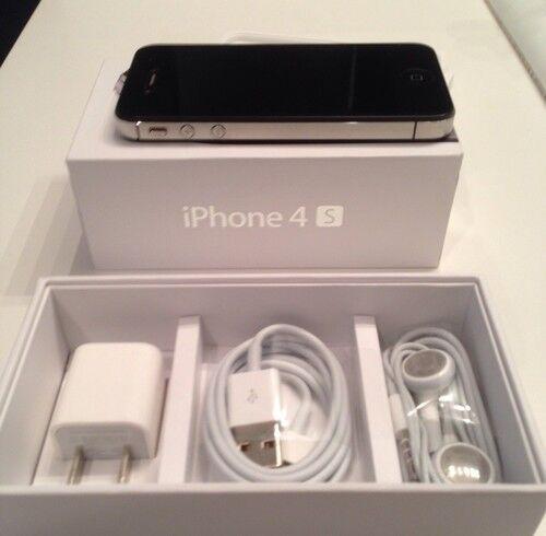 Apple Iphone 4s 32gb Factory Unlocked Black Smartphone