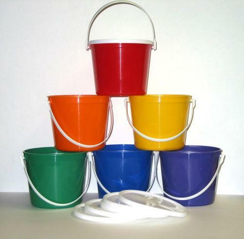 Plastic Bucket Ebay
