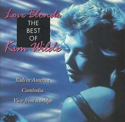 Kim Wilde - Love Blonde - The Best Of Kim Wilde (CD, Com CD (Love Blonde The Best Of Kim Wilde)