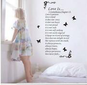 Removable Wall Stickers Love Quotes