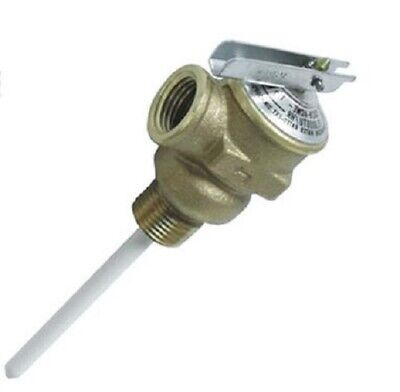 Camco Water Heater Pressure Relief Valve Factory Set At 150 Psi - 10421