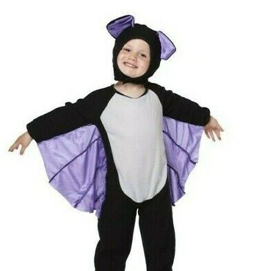 Halloween TODDLER BAT JUMPSUIT Baby COSTUME Childs Kids - Baby Alien Kostüme