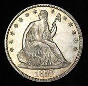 1857 Half Dollar
