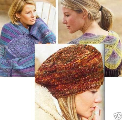 Spin-off magazine spring 2004: shells shawl, dew drop