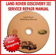 Discovery 3 Workshop Manual