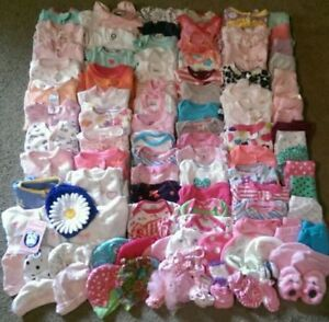 Girls Baby Clothing - 0-3 Months