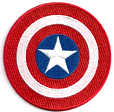 Captain America Shield Uniform Patch - Aufnäher für Kostüm zum aufbügeln - neu (Captain America Neue Kostüm)