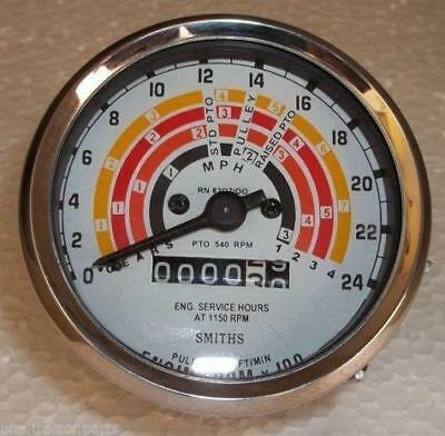 Clock Wise Fordson Super Major Tachometer - 80 Mm Fitment Size