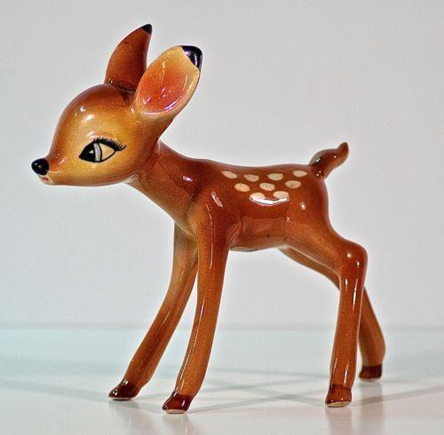 Vintage Bambi Figurine Ebay