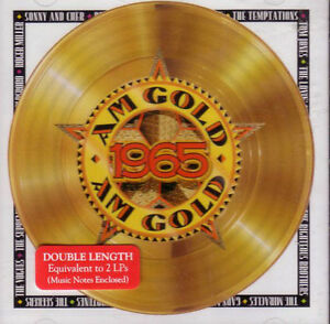 AM GOLD 1965 DOUBLE LENGTH CD PLUS BRAND NEW FACTORY WRAPPED CD London Ontario image 1