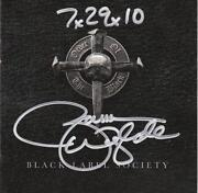 Black Label Society Signed