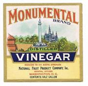Vinegar Label
