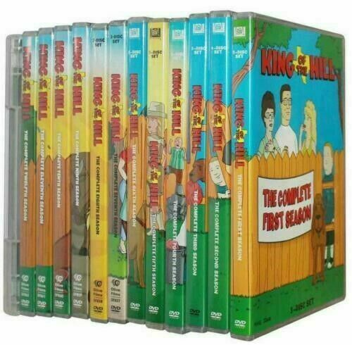 KING OF THE HILL The Complete Series Collection DVD Seasons 1-13 New & Sealed US