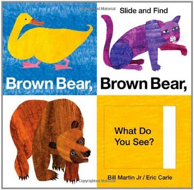 Brown Bear, Brown Bear, What Do You See? Slide and - Brown Bear Brown Bear Book