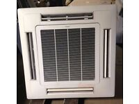 DAIKIN AIR CONDITIONING, CEILING CASSETTE, 7.1 KW PRICE INCLUDES FITTING