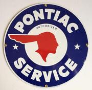 Pontiac Sign