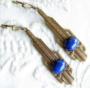 Antique Gold Dangle Earrings
