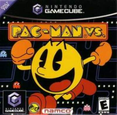 GAMECUBE *NO MANUAL* PAC-MAN VS. W/ FREE SHIP!