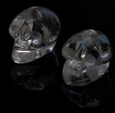 Bergkristall Kristallschädel Skull Schädel Totenkopf