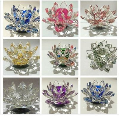 Crystal Lotus Flower Best Gift For Home Decoration With Gift BOX