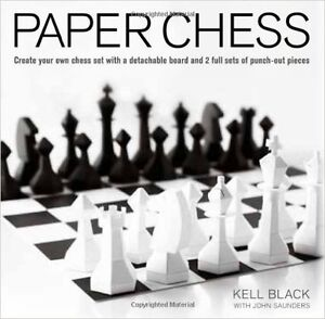 NEW Paper Chess Set to make.