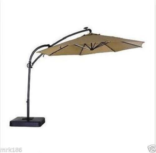 Offset Umbrella Replacement Canopy Ebay