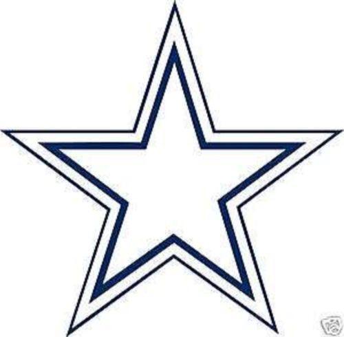 Dallas Cowboys Wincraft Helmet 4 X 4 Color Perfect Cut Decal