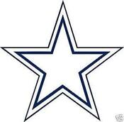 Dallas Cowboys Wall Decal