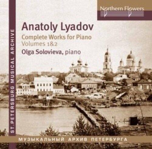 Soloviova - Lyadov: Complete Works For Piano 1 [New CD]