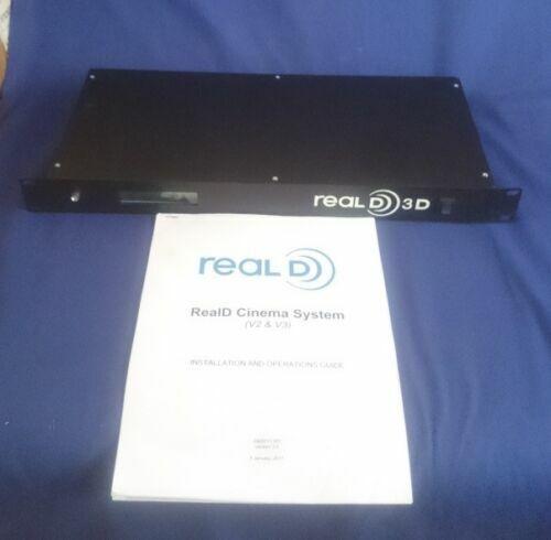 REALD 3D CINEMA SYSTEM OF CINEMA CONTROL MODULE & CINEMA POLARIZED ZSCREEN NEW